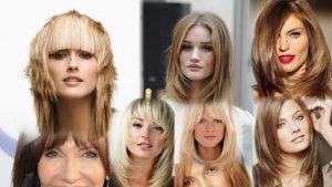 Прическа лесенка на средние волосы фото