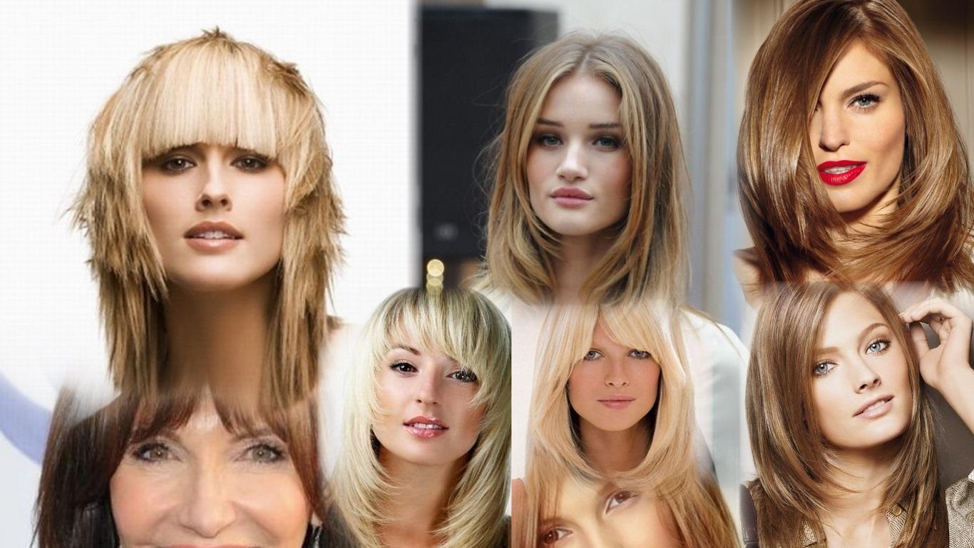 Прическа лесенка на волосы фото