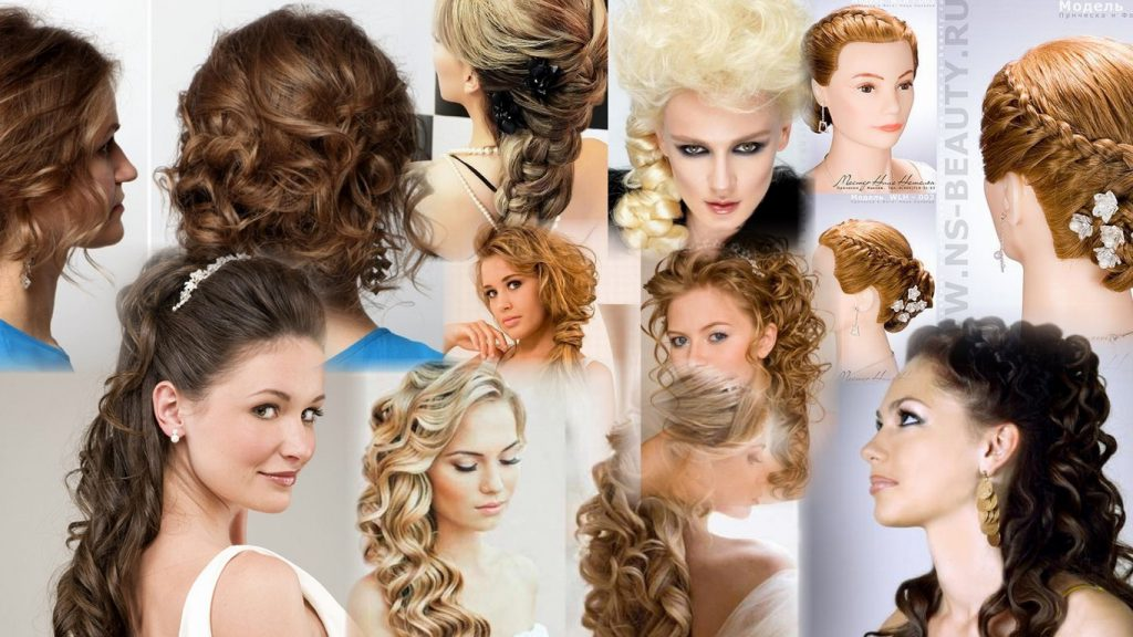 Прически для длинных волос фото