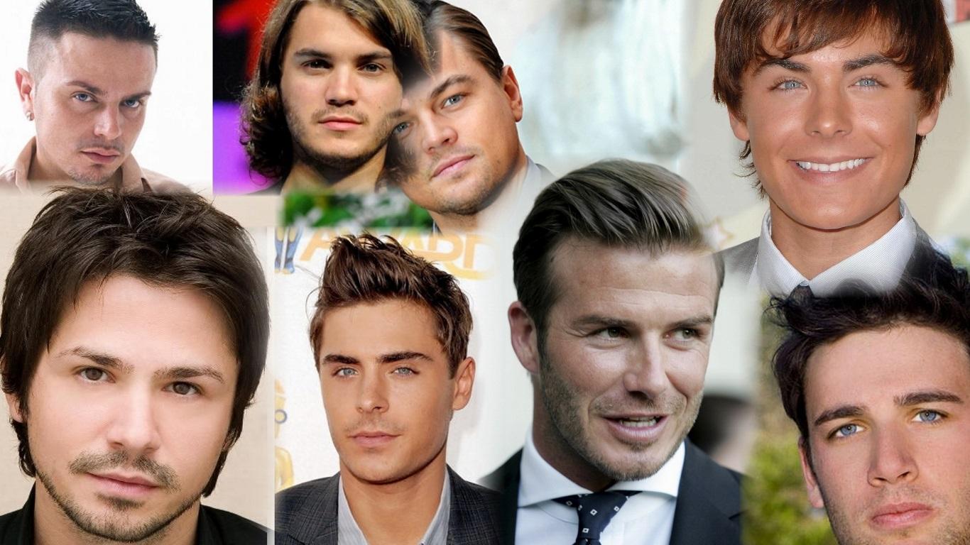 Прически парней с круглым лицом фото