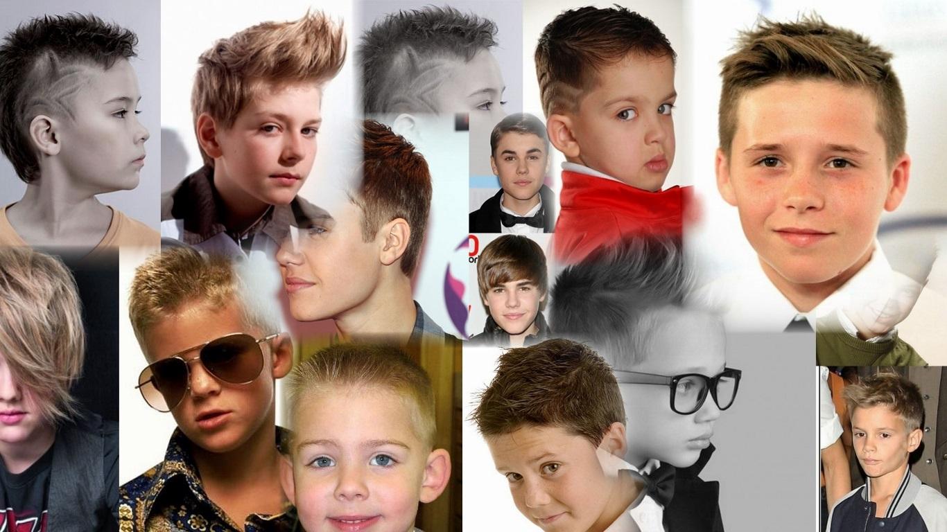 Прическа на средние волосы фото для мальчиков