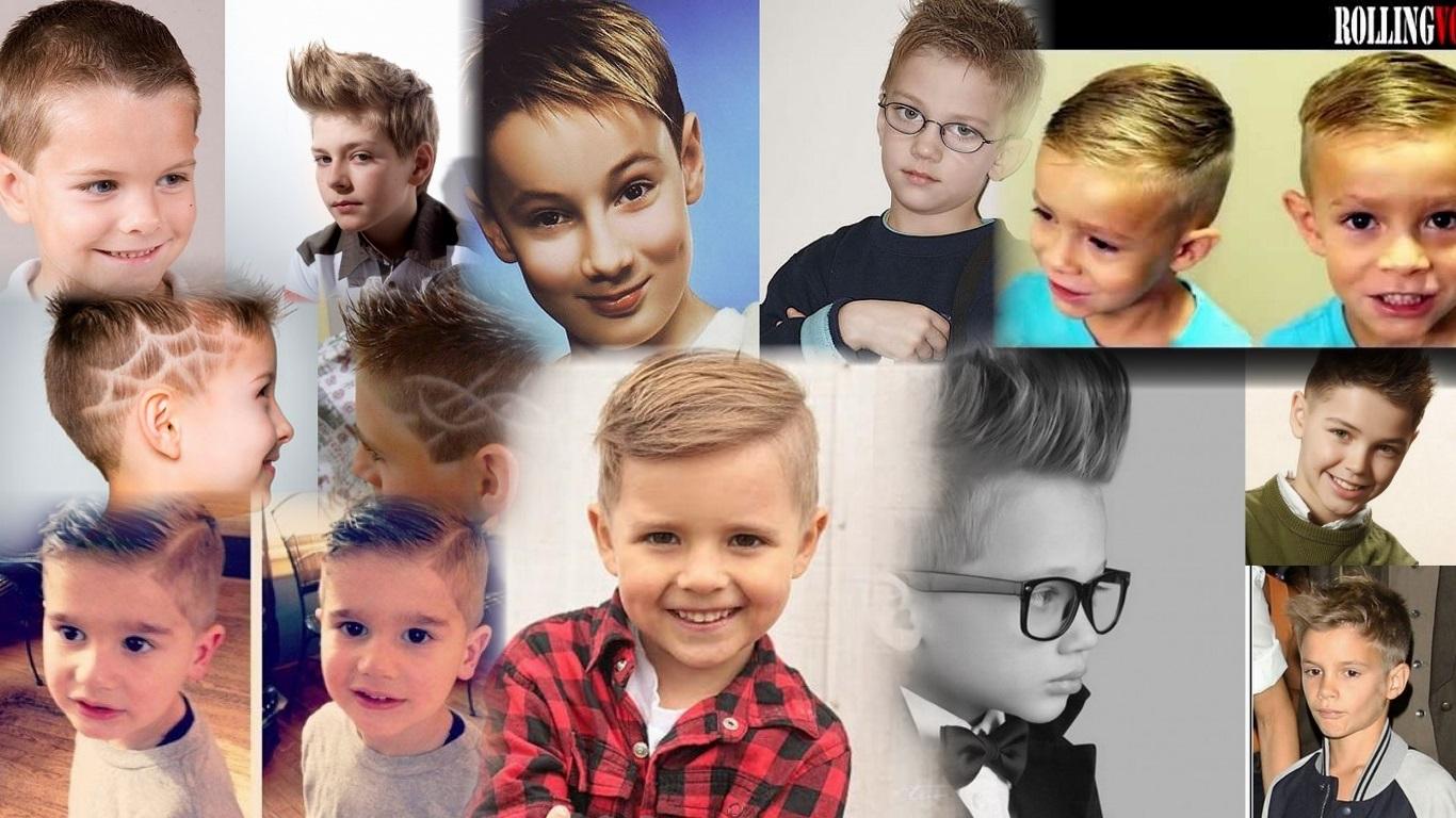 Картинки с детскими прическами мальчикам