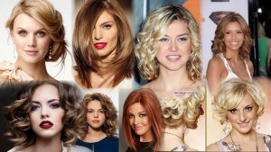 Прически и укладки на средние волосы фото