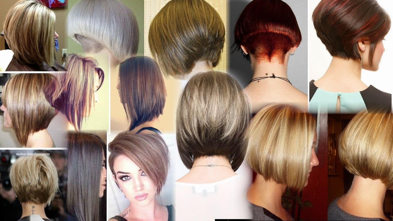 Как самой себе подстричь волосы - боб и каре фото стрижек 67