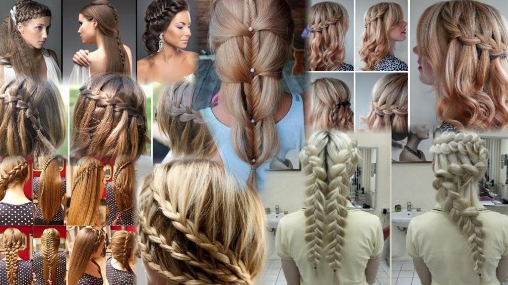 Прически колоски на длинные волосы фото