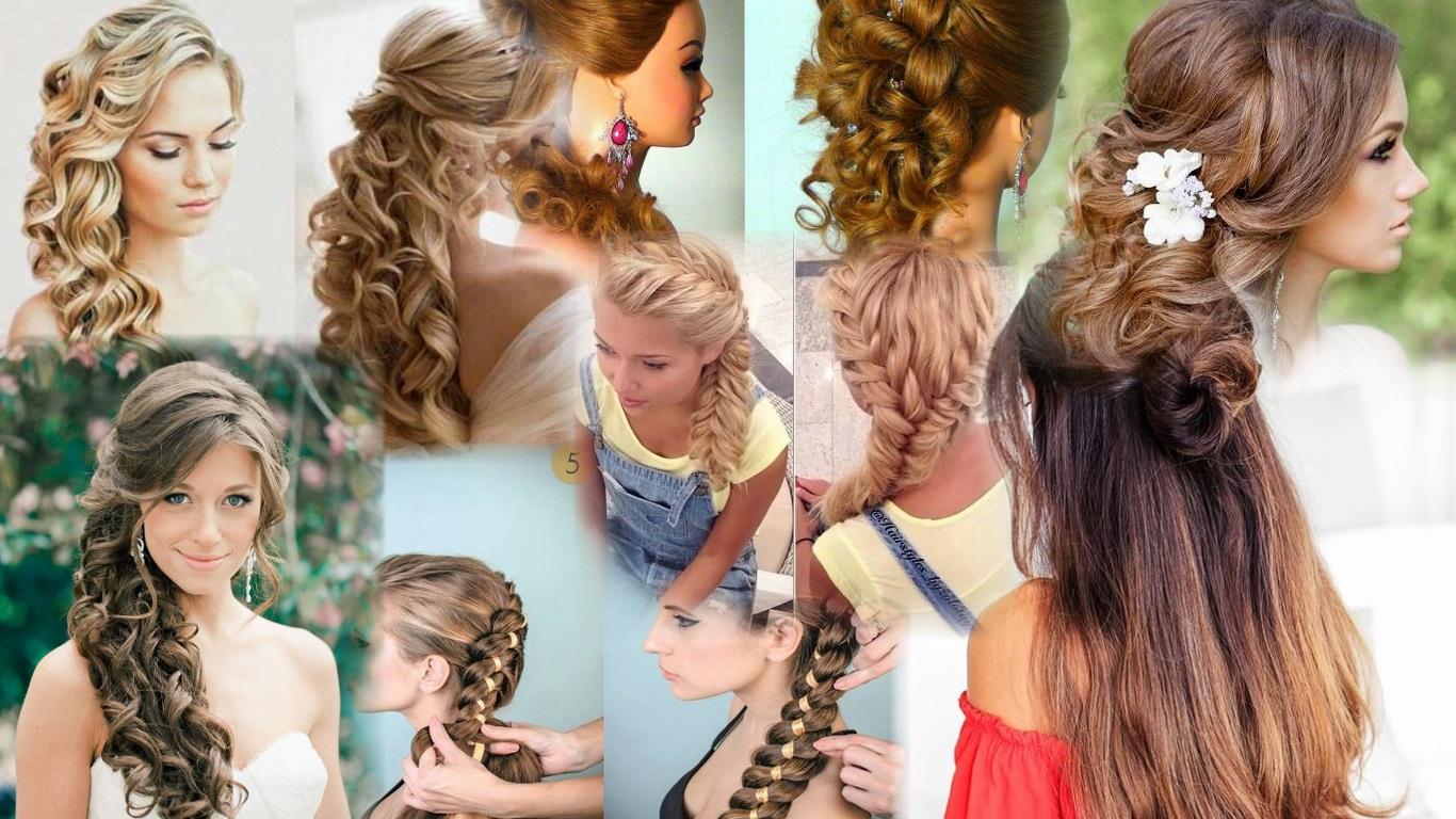Прически на длинные волосы. фото