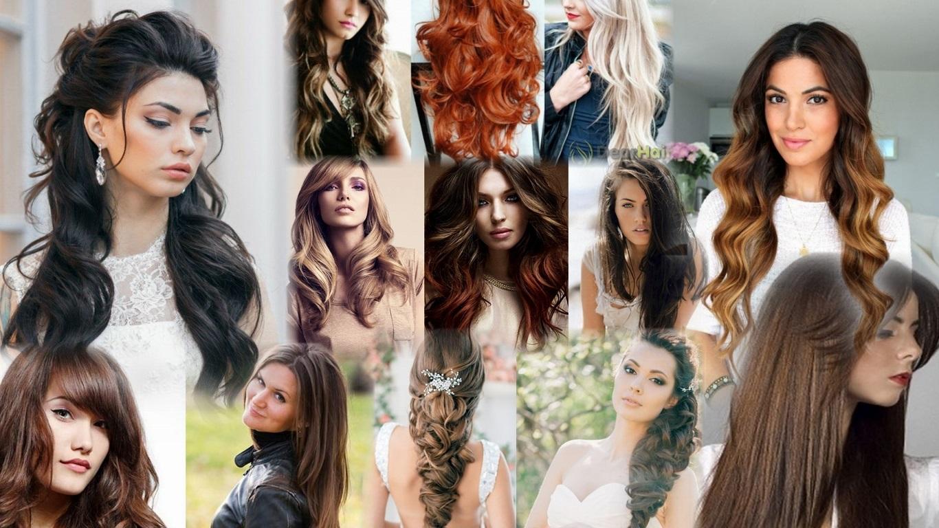 Причёски на густые волосы длинные фото