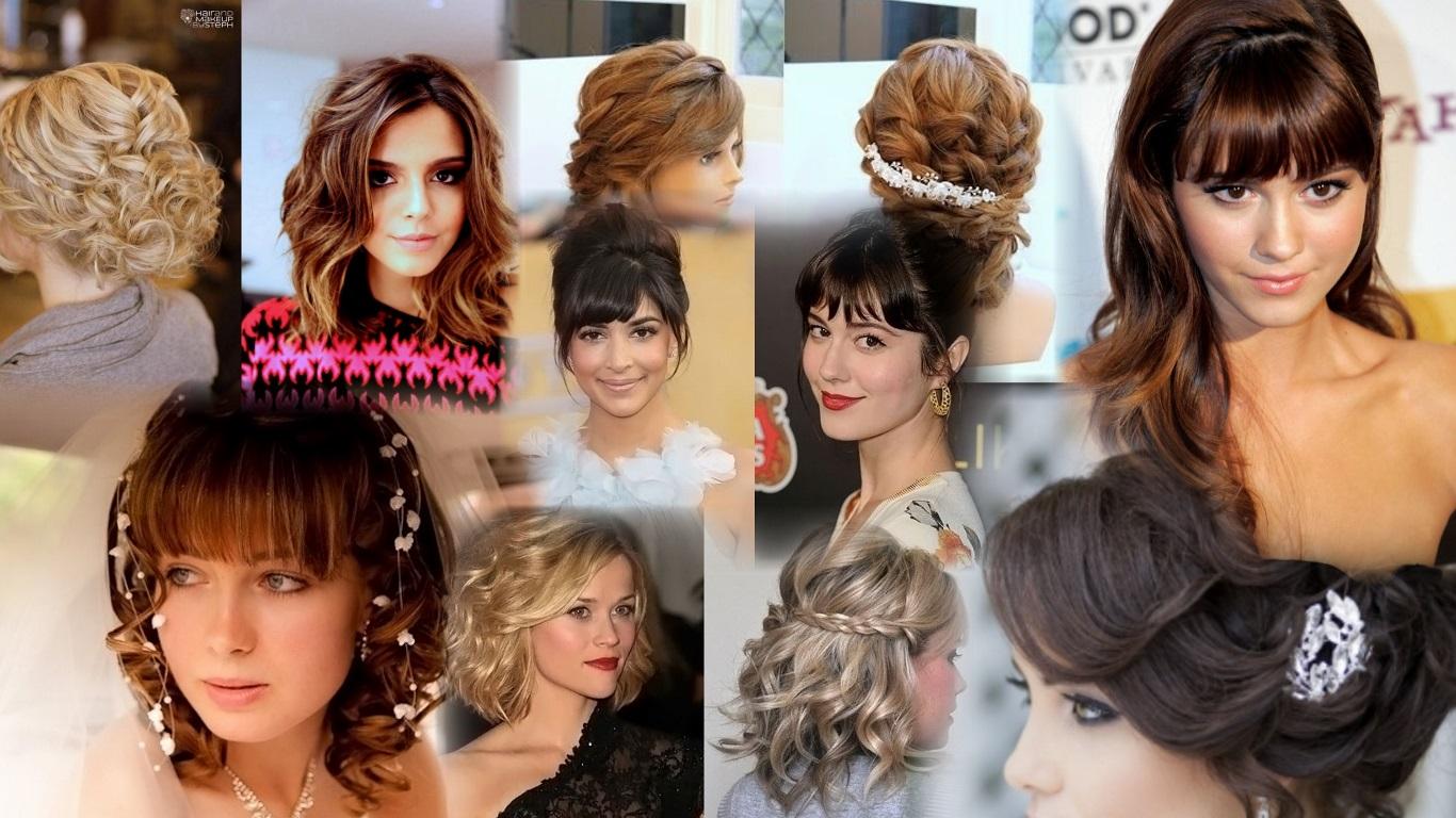 Фото современных причёсок на средние волосы