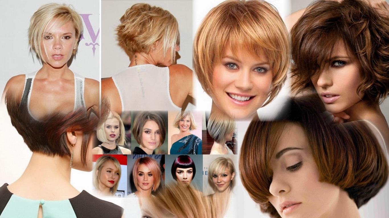 Как самой себе подстричь волосы - боб и каре фото стрижек 24
