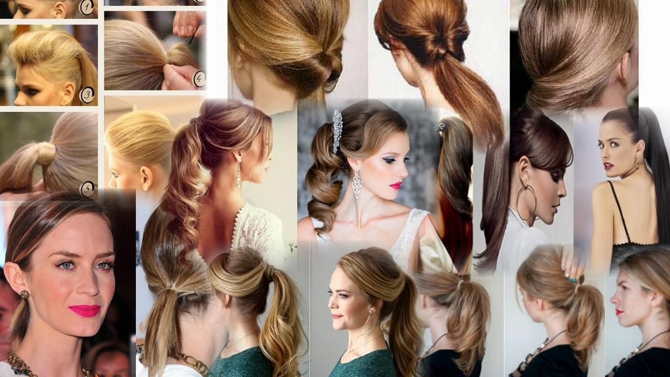 Причёски для средних волос в домашних условиях пошаговое фото 271