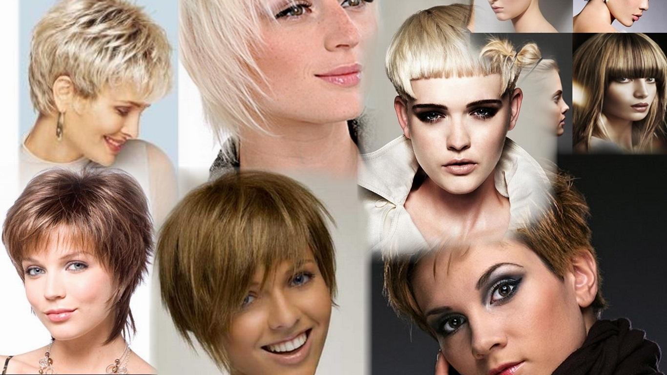 Прически обычные для коротких волос фото