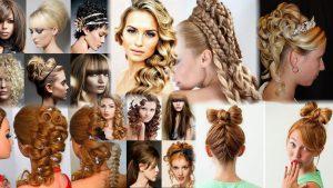 Смотреть прически на средние волосы фото