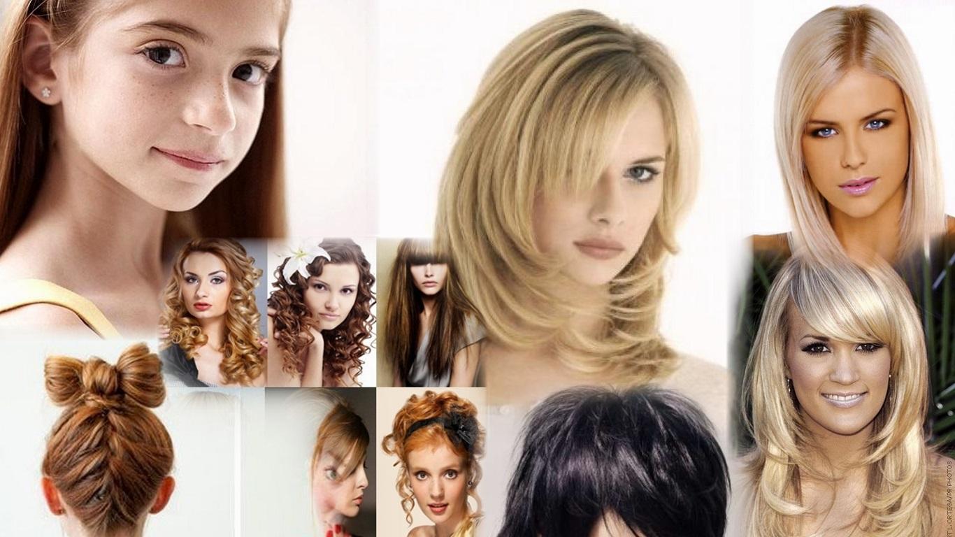 Стрижки на длинный волос смотреть онлайн