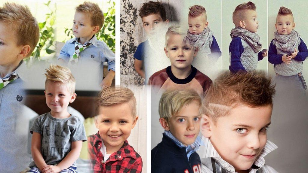 Стильные детские стрижки для мальчиков фото