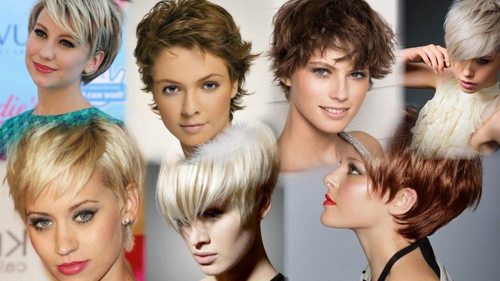 Стильные прически на короткие волосы фото