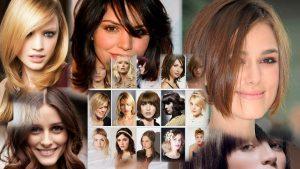 Стильные прически на средние волосы фото