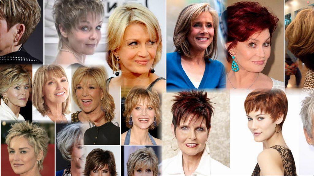 Стильные стрижки для женщин 50 лет фото