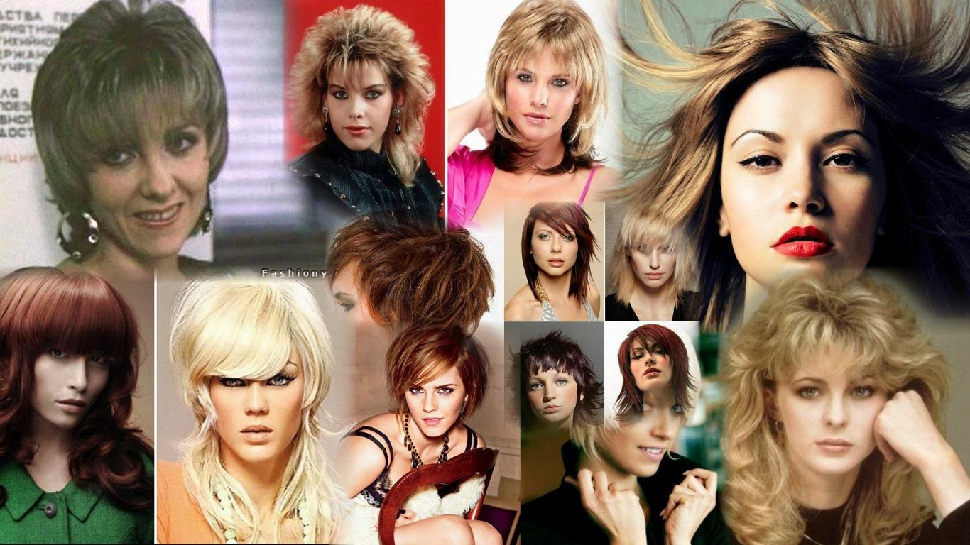 Прически в стиле 90-х на короткие волосы фото