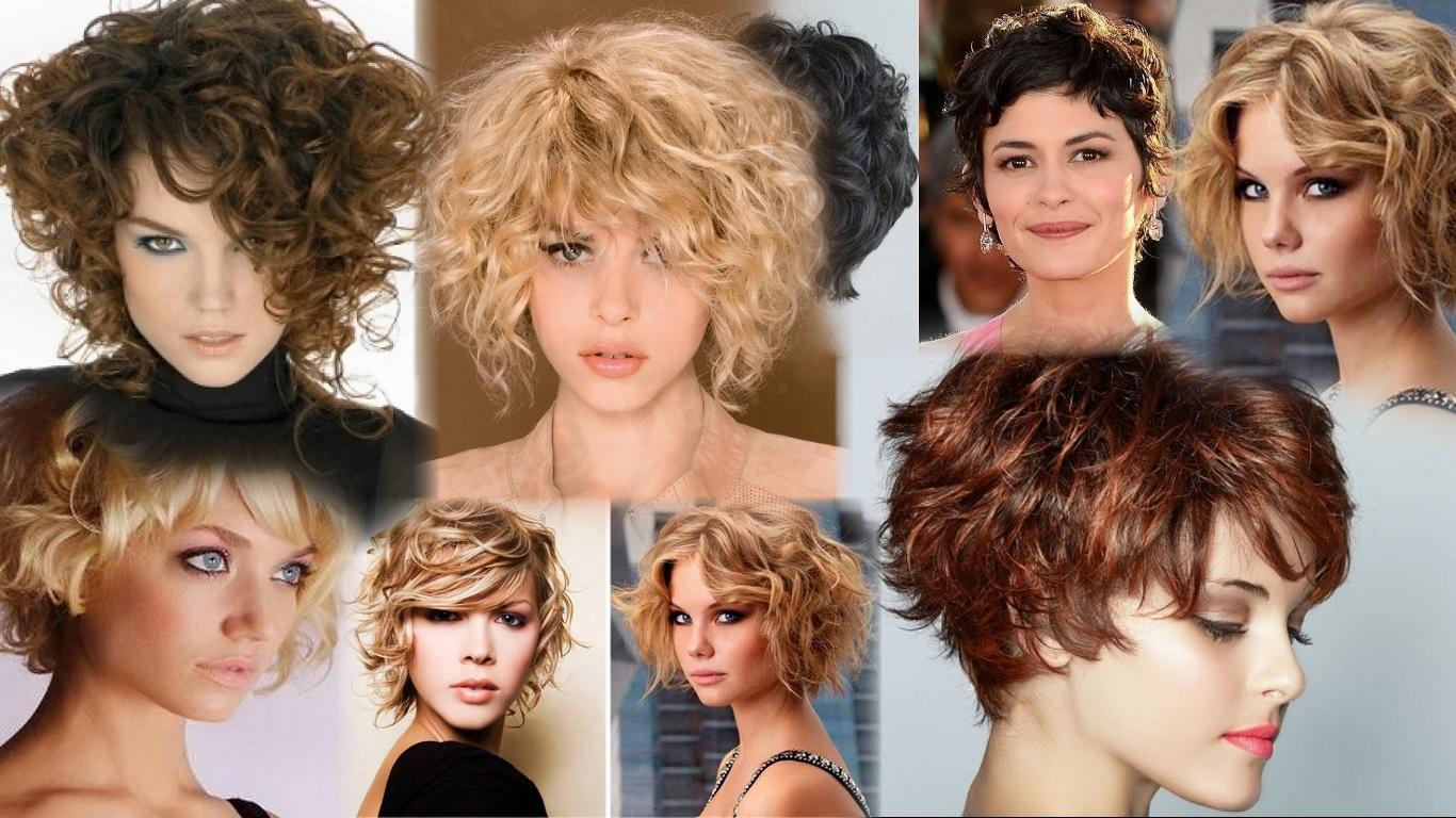 Стрижки для вьющихся волос (66 фото короткие, средние, длинные прически) 48