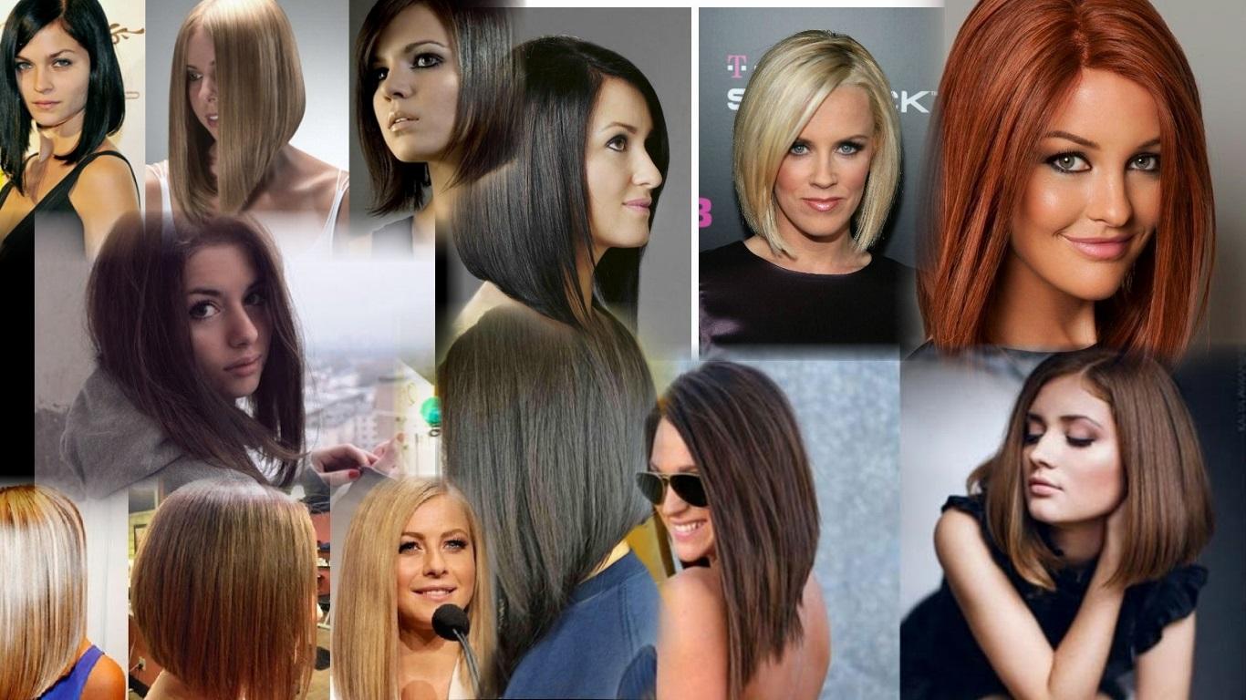 Прическа каре на удлинение на длинные волосы