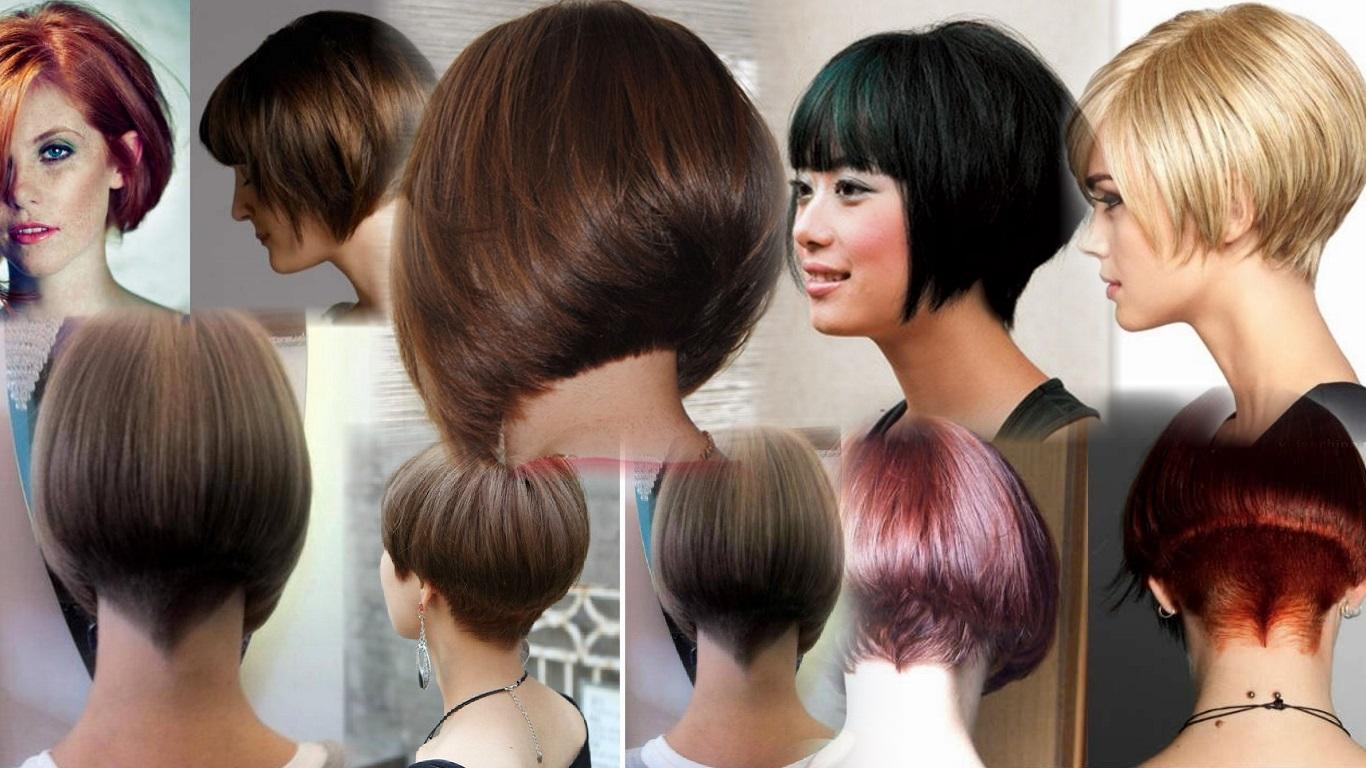 Как самой себе подстричь волосы - боб и каре фото стрижек 80