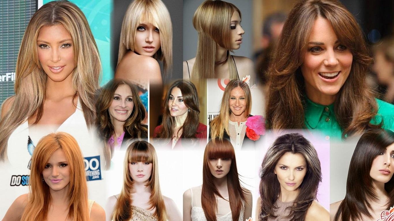 Модные современные прически на длинные волосы