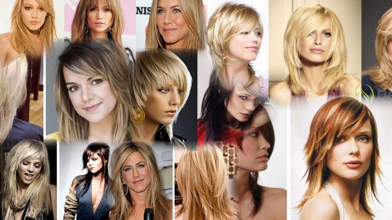 Стрижка «Каскад» на средние волосы (женские средние)