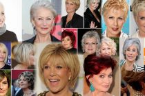 Стрижка для женщин за 50 лет фото
