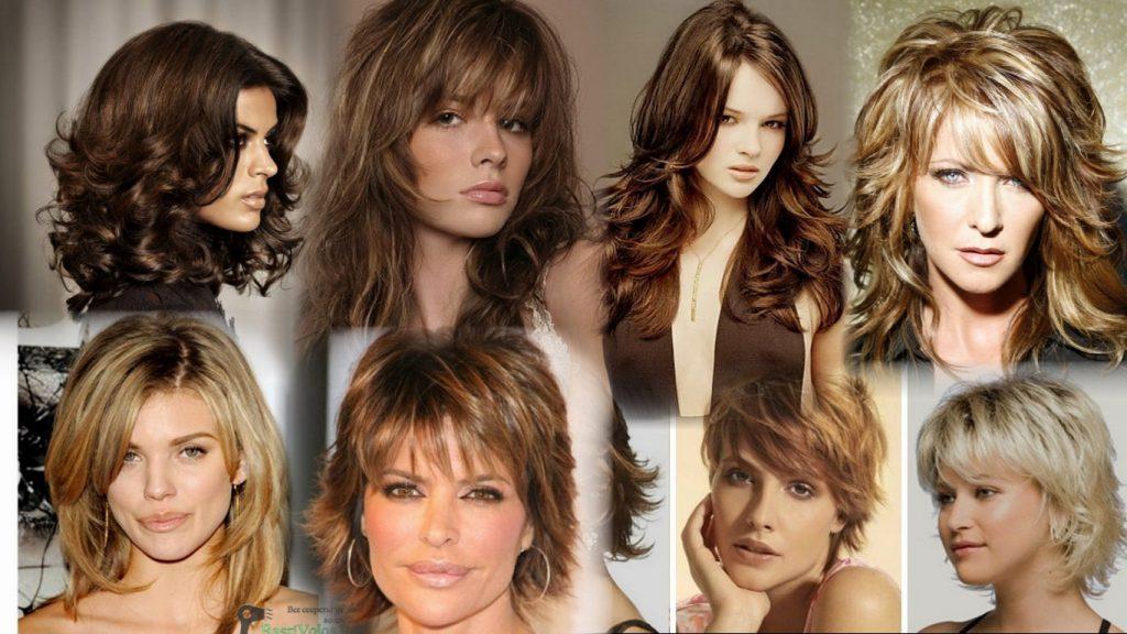 Стрижка Итальянка на средние волосы фото