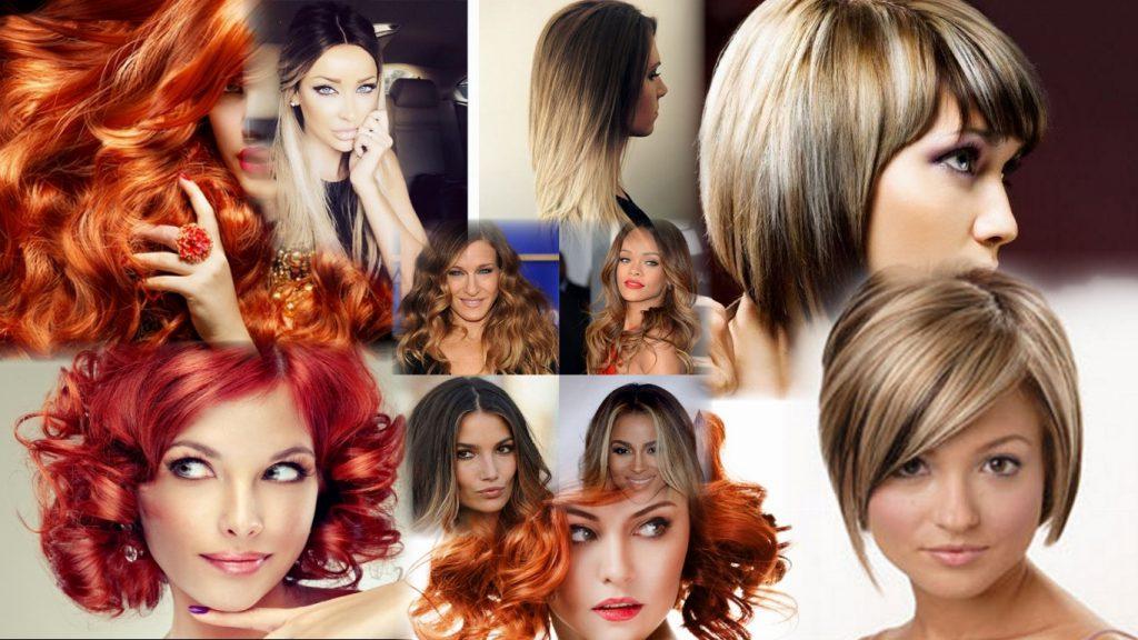 Стрижка и покраска волос фото