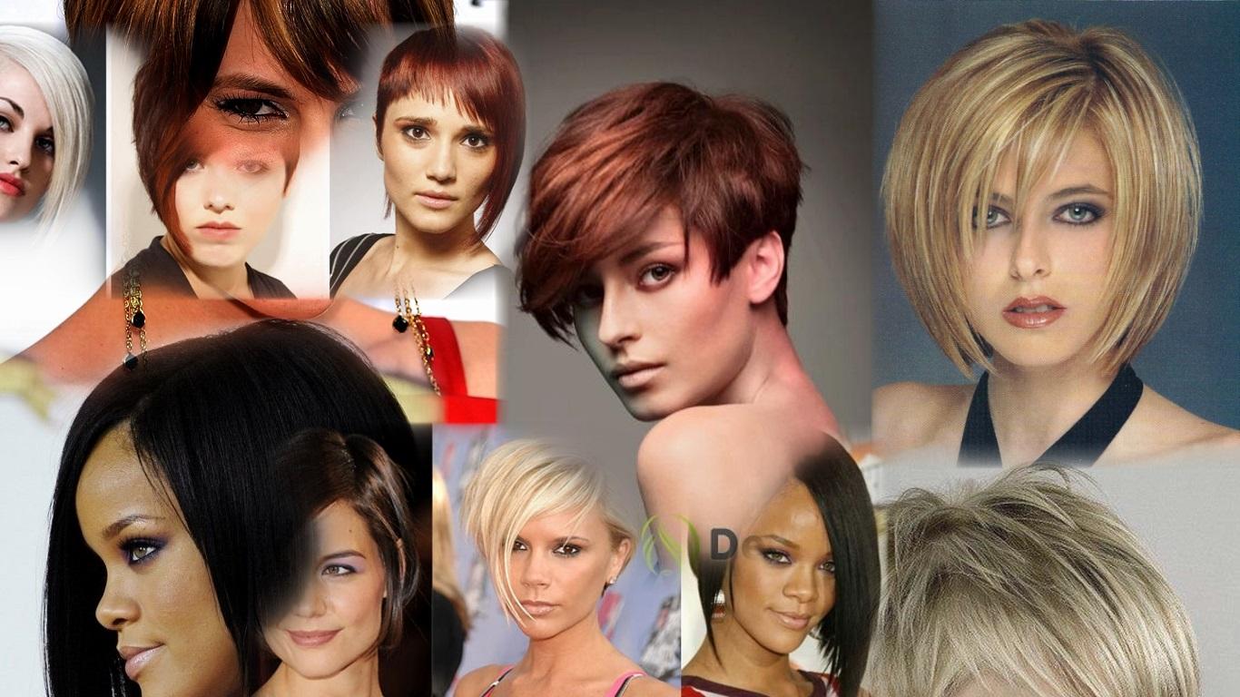 Стрижка волос полукругом на средние волосы фото
