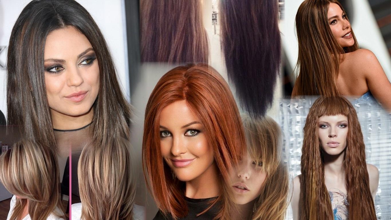 Виды стрижек на длинные волосы женские