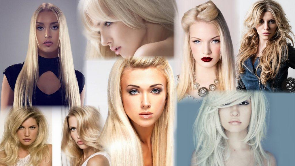 Стрижки для блондинок на длинные волосы фото