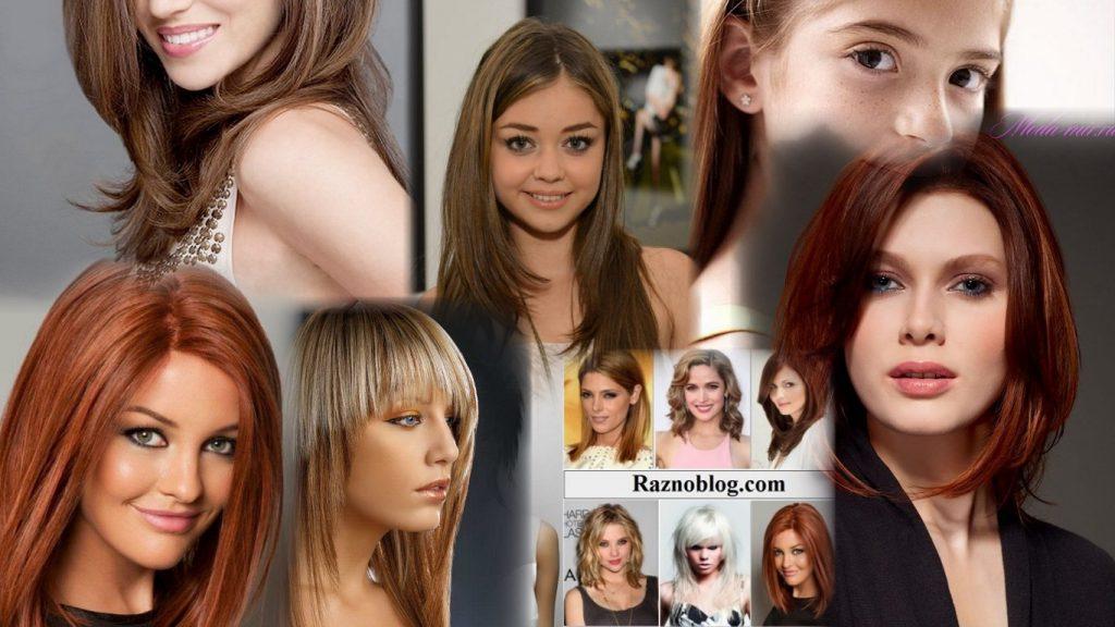 Стрижки для девушек на средние волосы фото