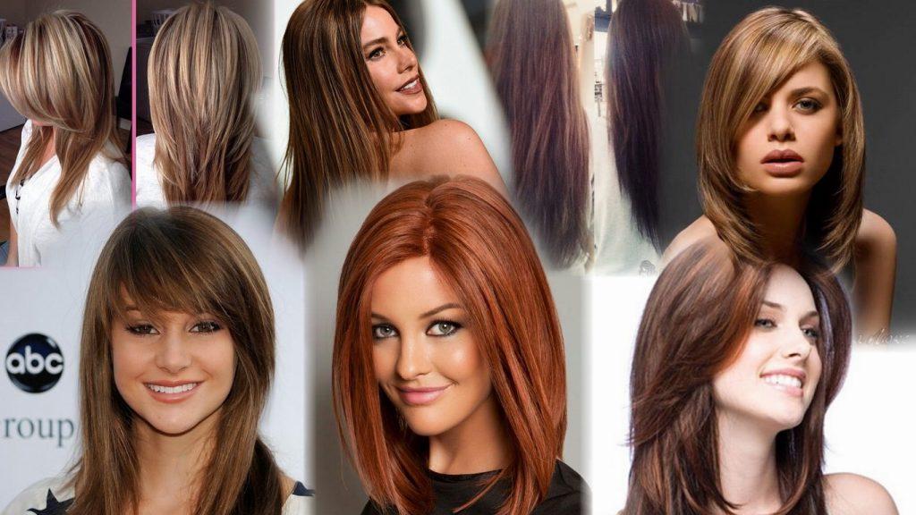 Стрижки для длинных волос фото