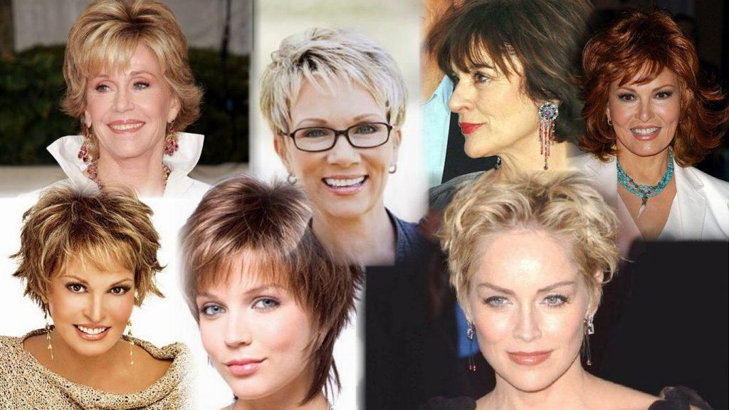 Стрижки для женщин среднего возраста фото