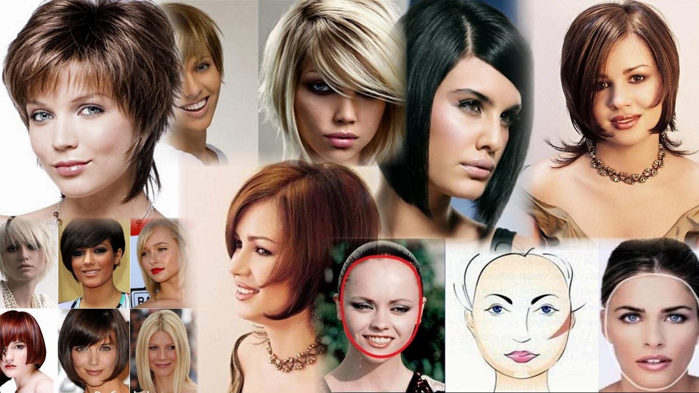 прически разных типов лица фото