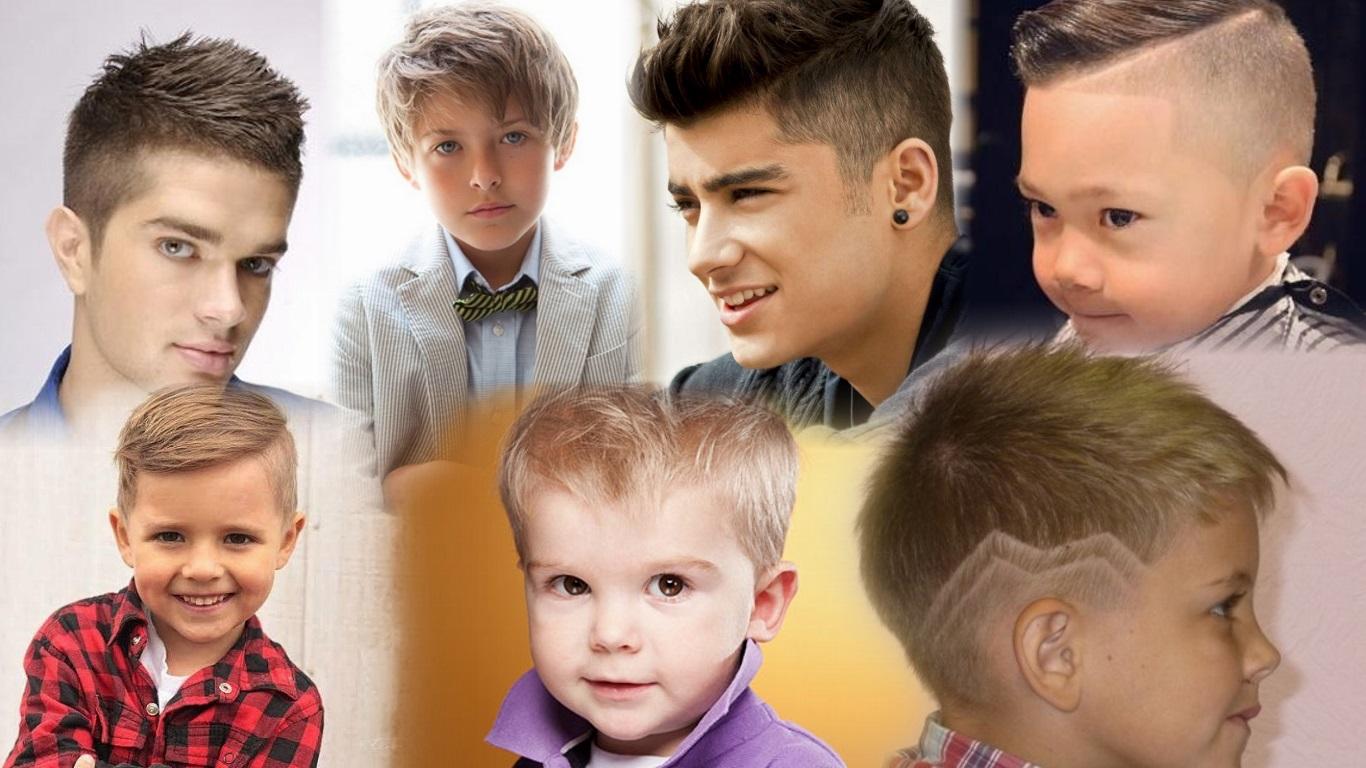 Фото со стрижками для мальчиками