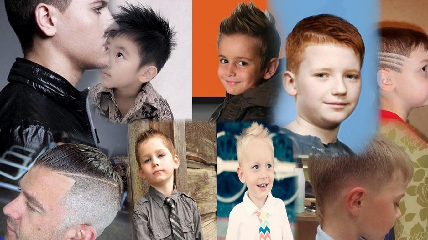 Все виды стрижек мальчиков
