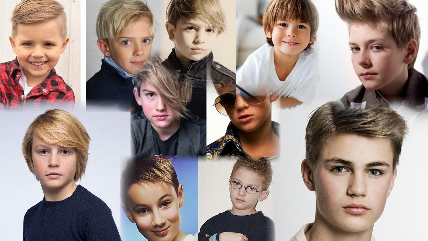 Короткие причёски для мальчиков фото