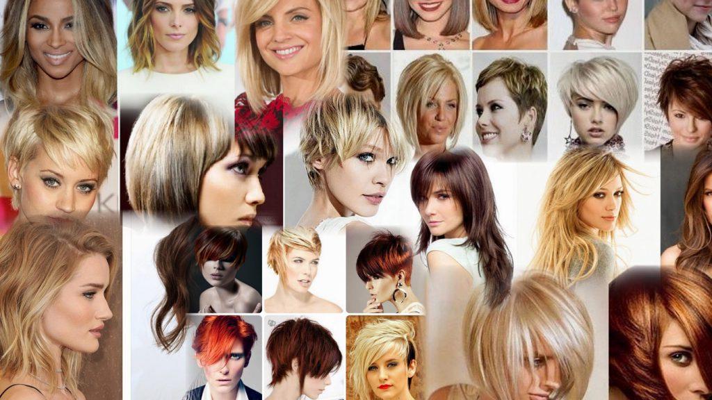 Стрижки и окрашивание на средние волосы фото