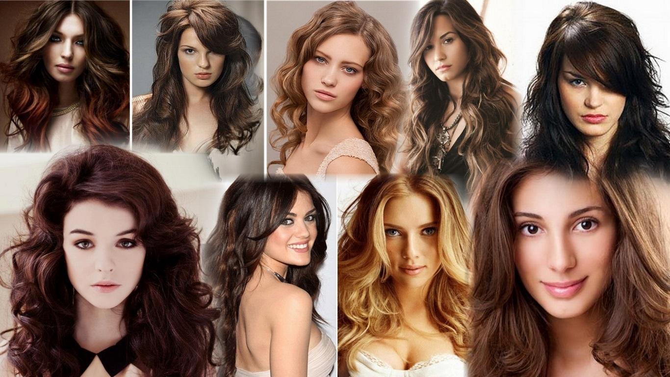Стрижки на длинные волнистые волосы фото