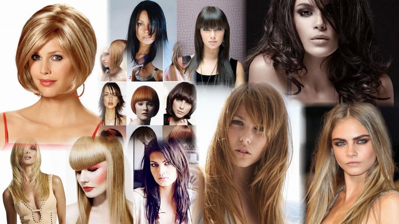 Стрижки для длинных и средних волос