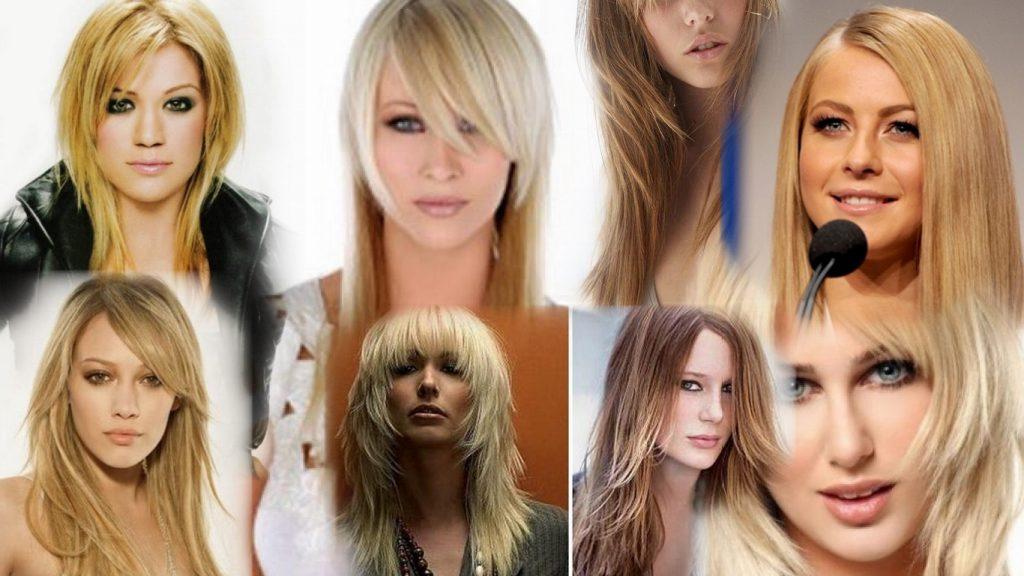 Стрижки на длинные редкие волосы фото