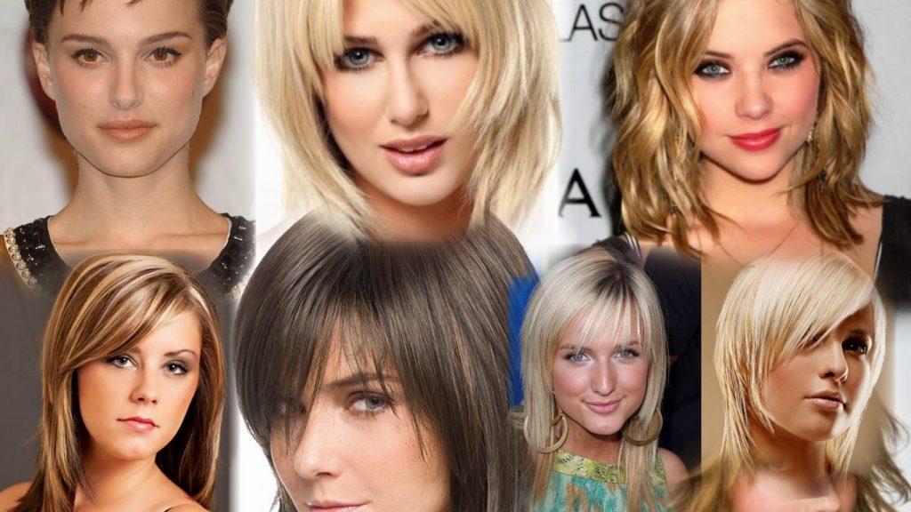 Стрижки на жидкие волосы средней длины фото