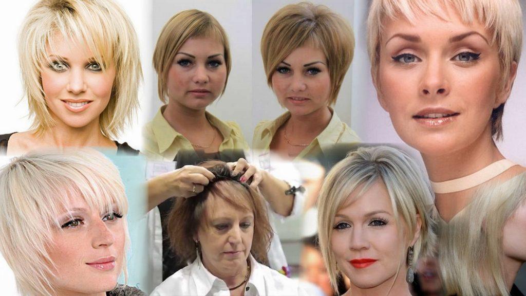 Женские стрижки на очень тонкие волосы