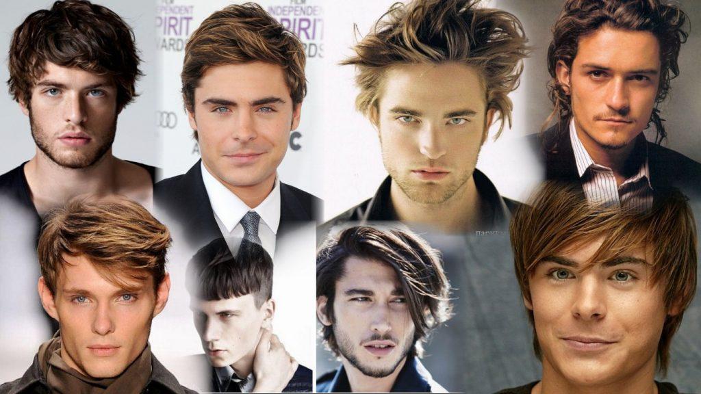 Стрижки на средние волосы мужские фото