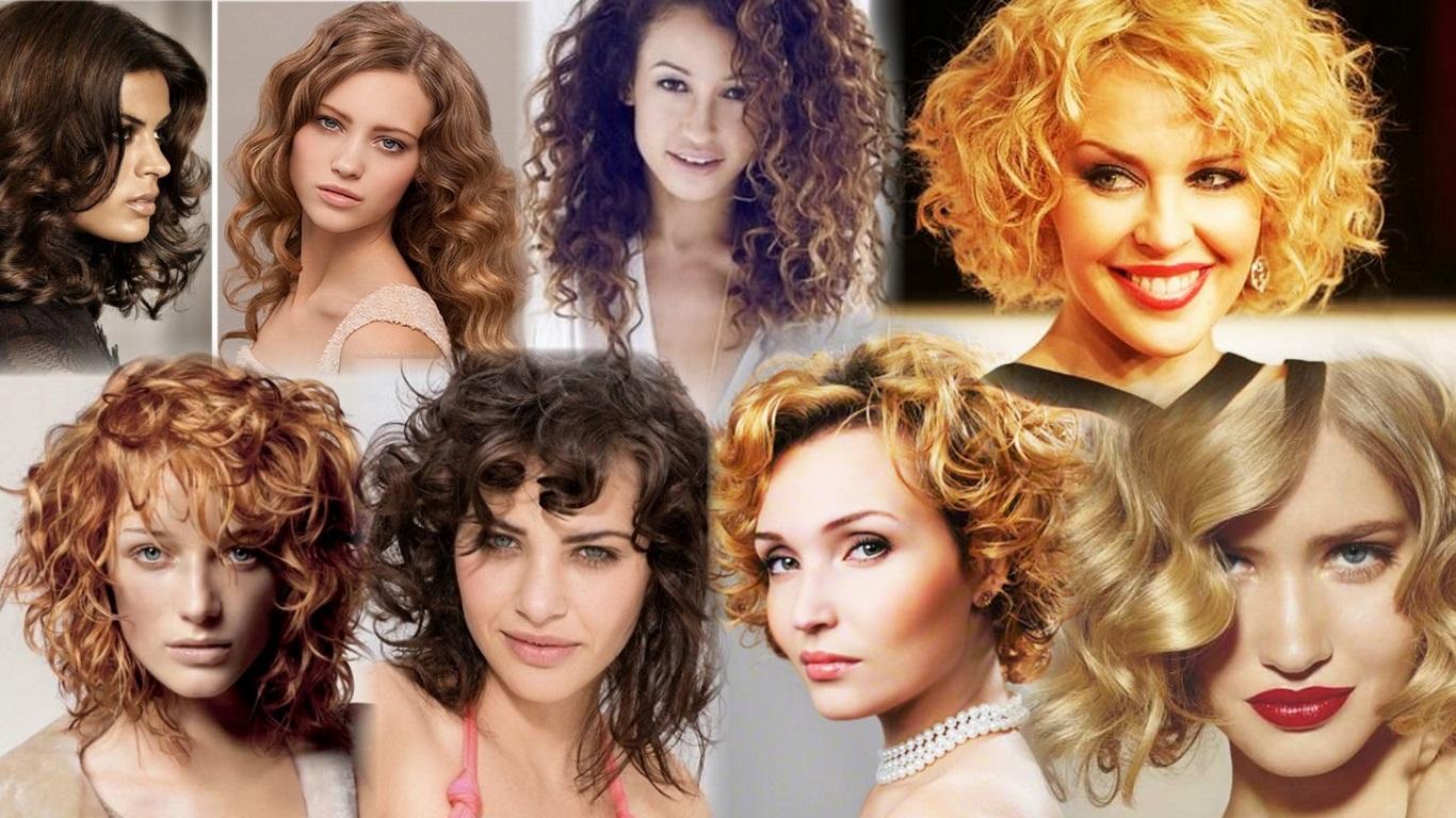 Прически для вьющиеся волос