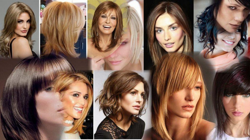 Стрижки на удлиненные волосы фото
