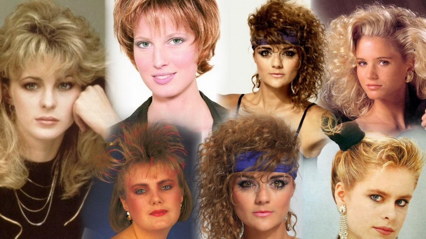 Стиль 80-х годов прически и макияж фото